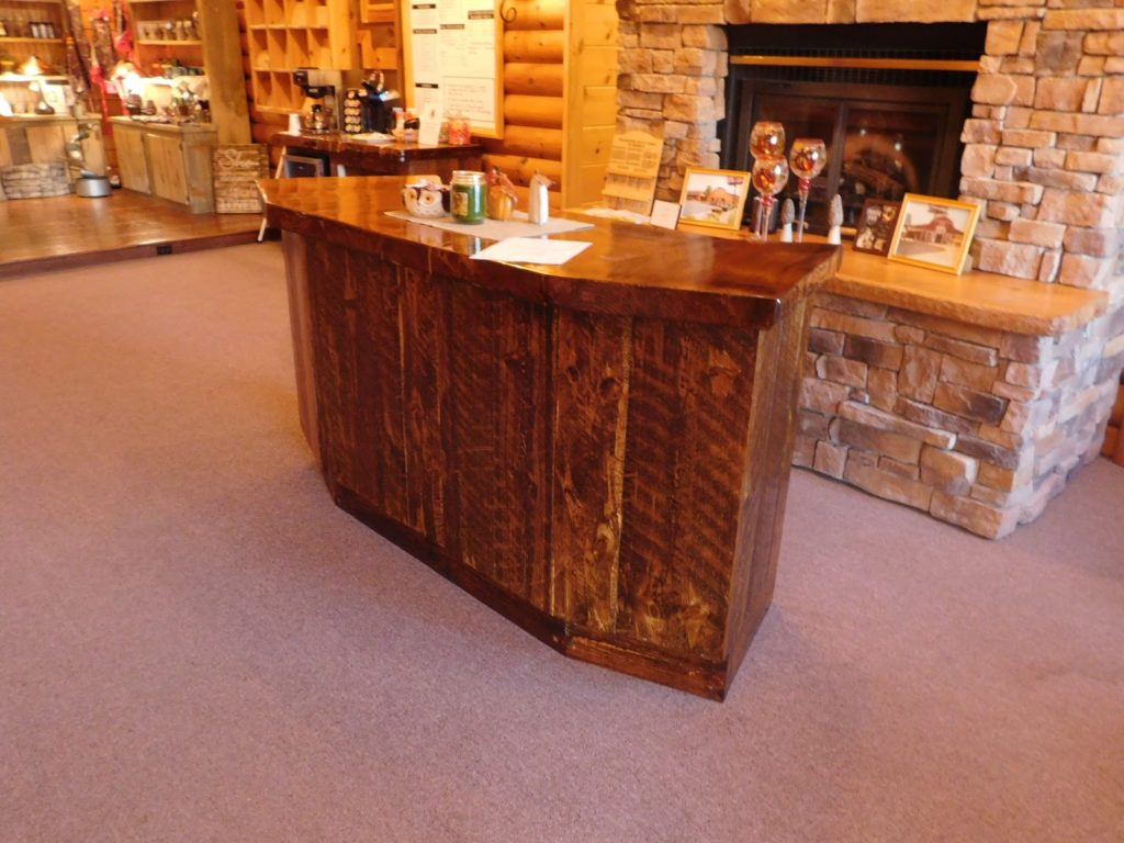 Heartwood Log Bar