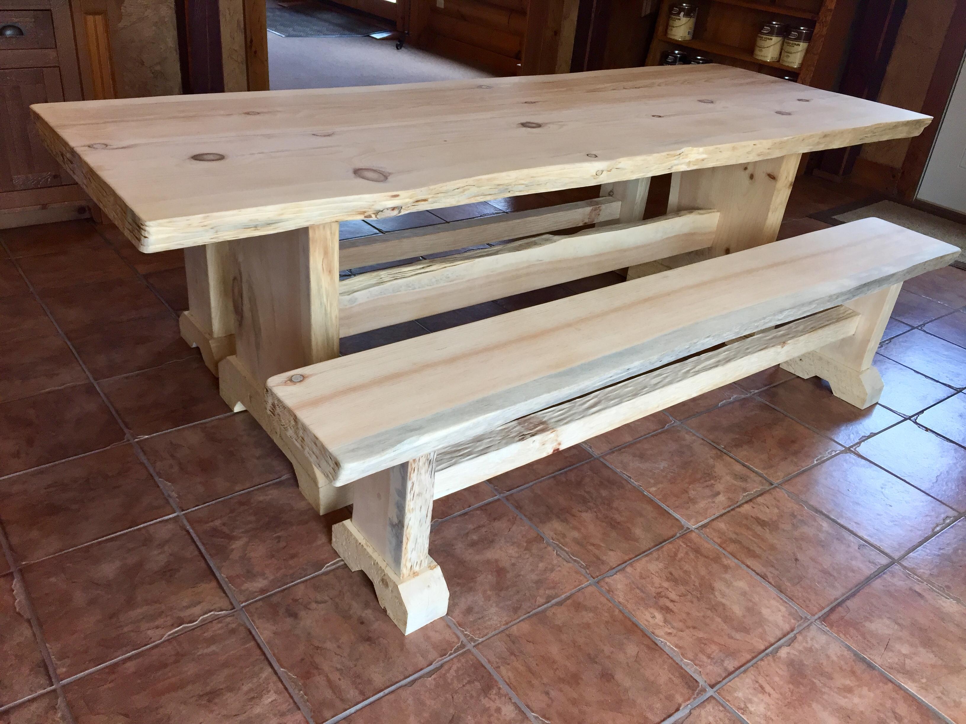 Farmhouse Tables   Heartwood Log & Lumber, LLC