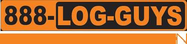 888-Log Guys logo